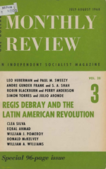 Monthly Review Volume 20, Number 3 (July-August 1968)