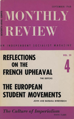 Monthly Review Volume 20, Number 4 (September 1968)