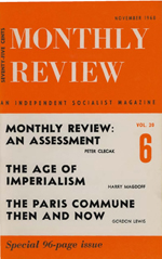 Monthly Review Volume 20, Number 6 (November 1968)