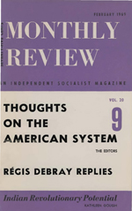 Monthly Review Volume 20, Number 9 (February 1969)