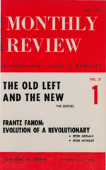 Monthly Review Volume 21, Number 1 (May 1969)