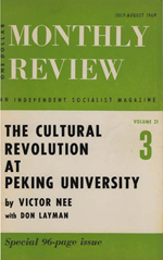 Monthly Review Volume 21, Number 3 (July-August 1969)