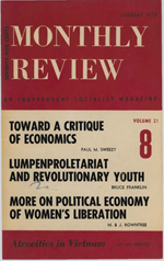 Monthly Review Volume 21, Number 8 (January 1970)