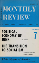 Monthly Review Volume 22, Number 7 (December 1970)