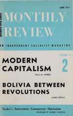 Monthly Review Volume 23, Number 2 (June 1971)