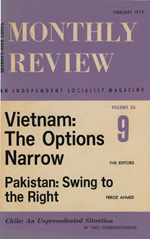 Monthly Review Volume 24, Number 9 (February 1973)
