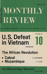 Monthly Review Volume 24, Number 10 (March 1973)
