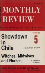 Monthly Review Volume 25, Number 5 (October 1973)