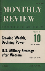 Monthly Review Volume 25, Number 10 (March 1974)