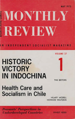 Monthly Review Volume 27, Number 1 (May 1975)