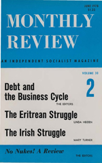 Monthly Review Volume 30, Number 2 (June 1978)
