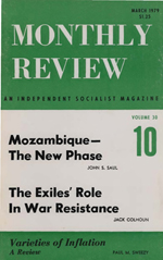 Monthly Review Volume 30, Number 10 (March 1979)