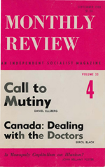 Monthly Review Volume 33, Number 4 (September 1981)