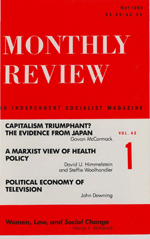 Monthly Review Volume 42, Number 1 (May 1990)
