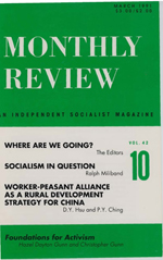 Monthly Review Volume 42, Number 10 (March 1991)