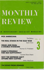 Monthly Review Volume 43, Number 3 (July-August 1991)