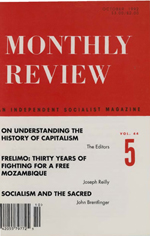 Monthly Review Volume 44, Number 5 (October 1992)