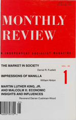 Monthly Review Volume 45, Number 1 (May 1993)