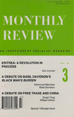 Monthly Review Volume 45, Number 3 (July-August 1993)