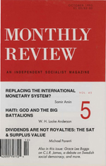 Monthly Review Volume 45, Number 5 (October 1993)