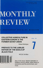 Monthly Review Volume 45, Number 7 (December 1993)