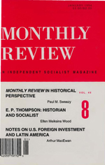 Monthly Review Volume 45, Number 8 (January 1994)