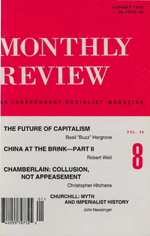 Monthly Review Volume 46, Number 8 (January 1995)