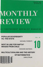 Monthly Review Volume 46, Number 10 (March 1995)