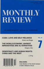 Monthly Review Volume 48, Number 7 (December 1996)