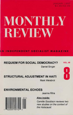 Monthly Review Volume 48, Number 8 (January 1997)