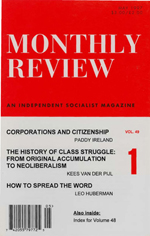 Monthly Review Volume 49, Number 1 (May 1997)