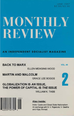 Monthly Review Volume 49, Number 2 (June 1997)