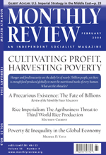 Monthly Review Volume 55, Number 9 (February 2004)