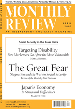 Monthly Review Volume 56, Number 11 (April 2005)