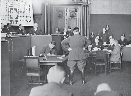 Dimitrov contronts Goering