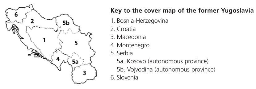 Key to the Former Yugoslavia